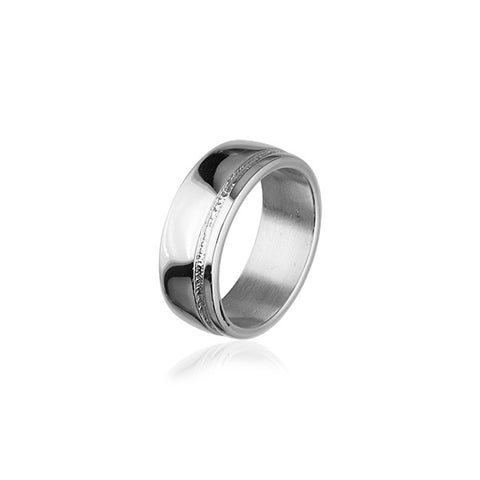 Simply Stylish Silver Ring R214