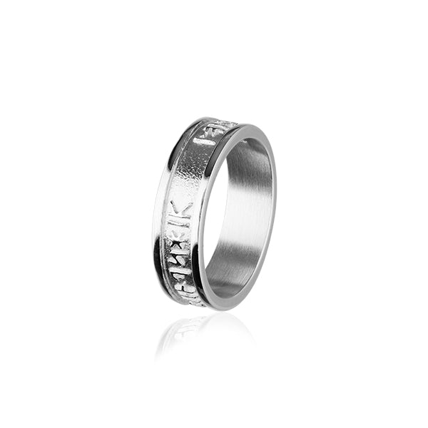 Runic Silver Ring R237