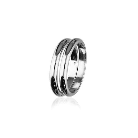 Simply Stylish Silver Ring R265