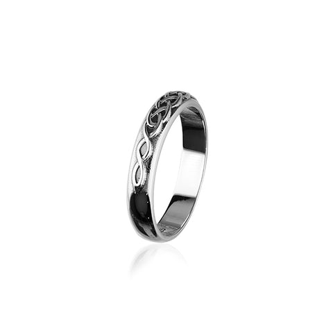 Celtic Silver Ring R321
