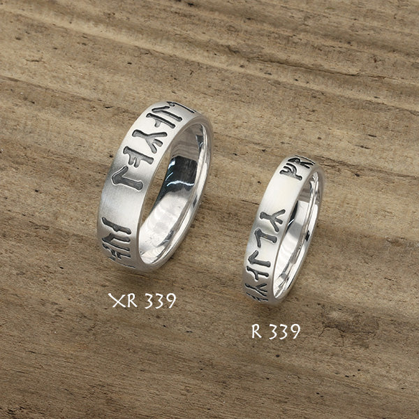 Runic Silver Ring XR339