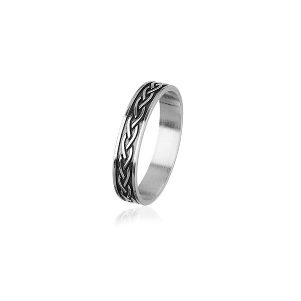 Celtic Silver Ring R399