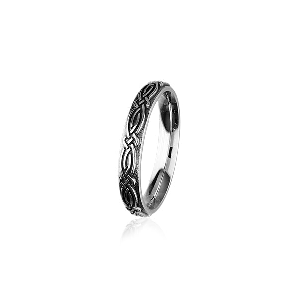 Celtic Silver Ring R400