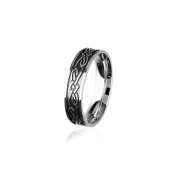 Celtic Silver Ring R401