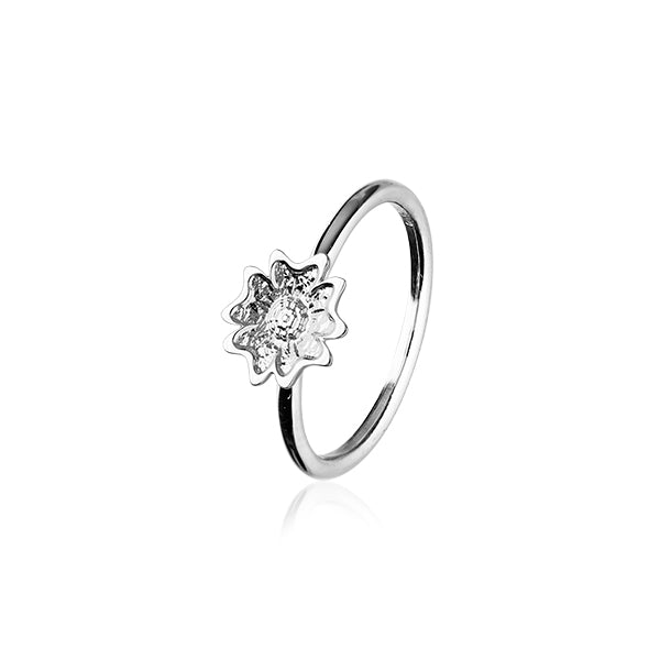 Scottish Primrose Silver Ring R410