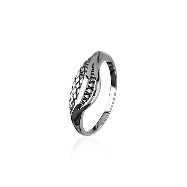 Sterling Silver Ran Collection Ring R414