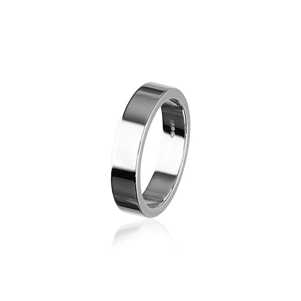 Simply Stylish Silver Ring R53