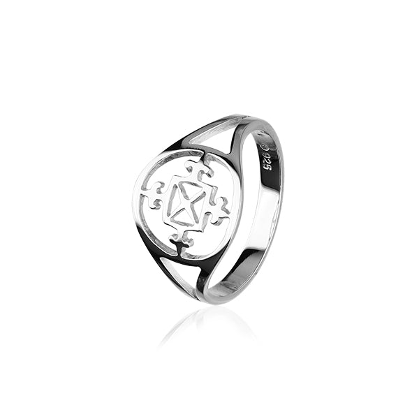 Orkney Traditional Silver Ring R67