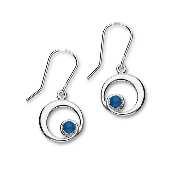 December Birthstone Silver Earrings SE376 Turquoise