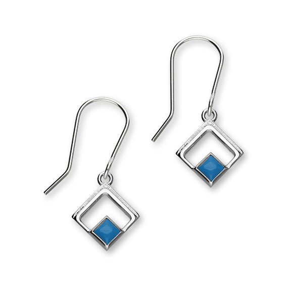 December Birthstone Silver Earrings SE401 Turquoise