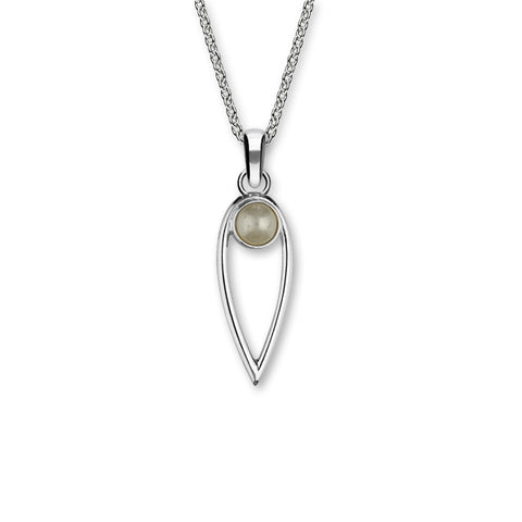 June Birthstone Silver Pendant SP277 Pearl