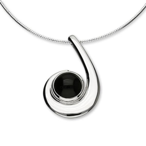 Carnaby Silver Pendant SP244