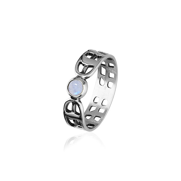 Solstice Silver Ring SR175