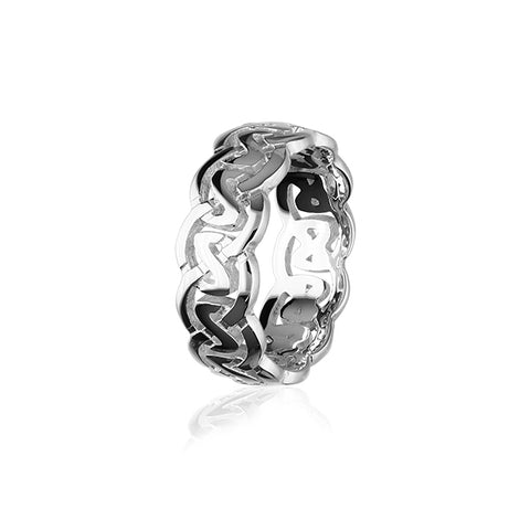 Celtic Silver Ring XR142