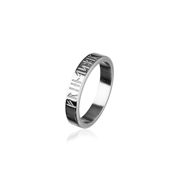 Runic Silver Ring XR263