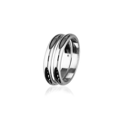 Simply Stylish Silver Ring XR264