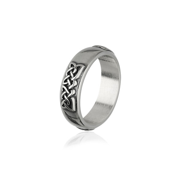 Celtic Silver Ring XR317
