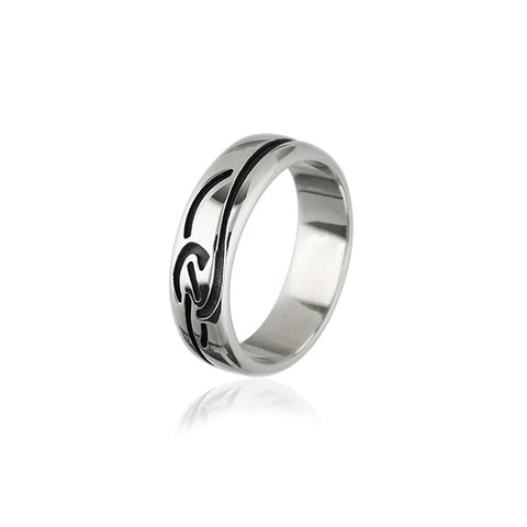 Celtic Silver Ring XR318