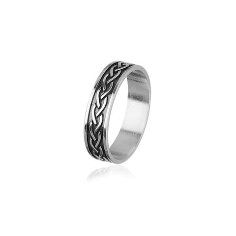 Celtic Silver Ring XR399