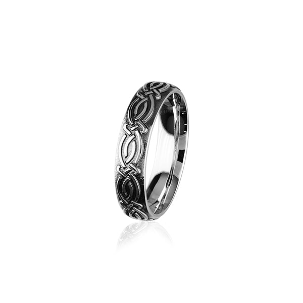 Celtic Silver Ring XR400