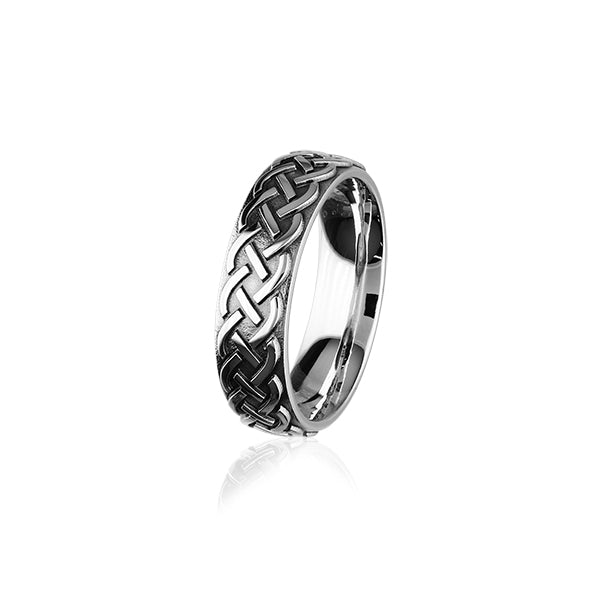 Celtic Silver Ring XR402