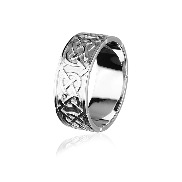 Celtic Silver Ring XXR126