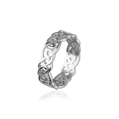 Celtic Silver Ring XXR129