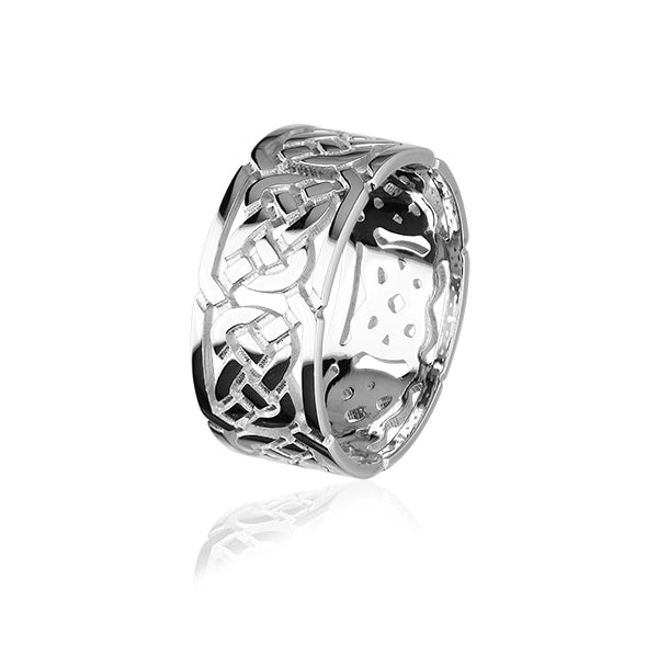 Celtic Silver Ring XXR132