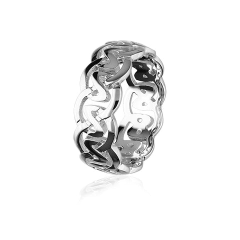 Celtic Silver Ring XXR142