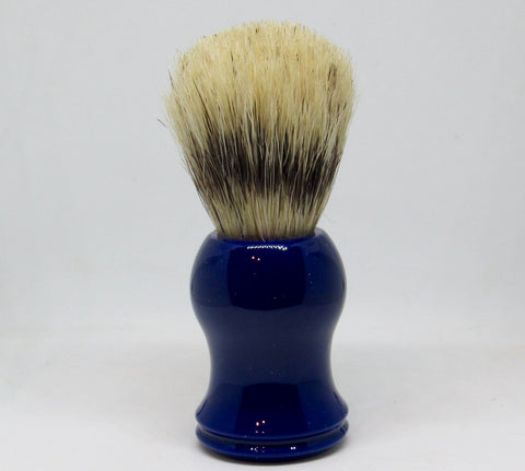 Boar Bristle Shave Brush- Navy Blue Elite