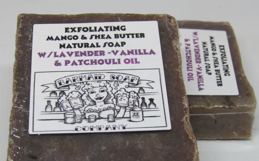Lavender Vanilla and Patchouli Exfoliating Soap