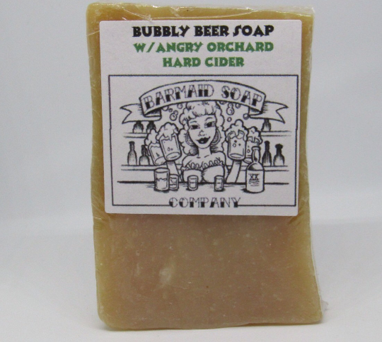Hard Cider Soap Made From Scratch