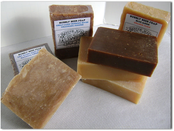 Soap crafted with Oktoberfest Lager