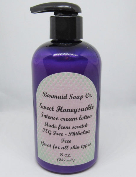 Barmaid Intense Cream Lotion- Sweet Honeysuckle