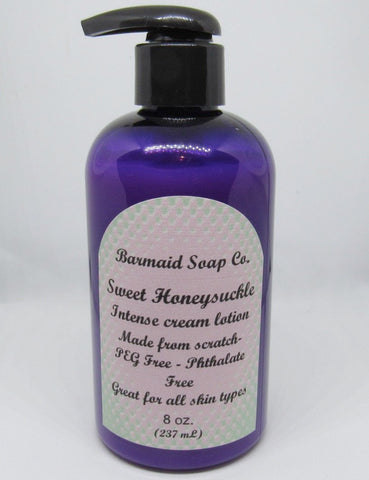 Intense Cream Lotion- Sweet Honeysuckle