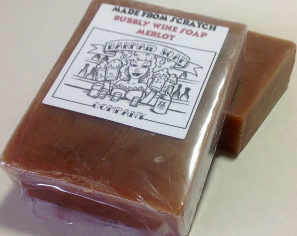 Wine Soap With Merlot