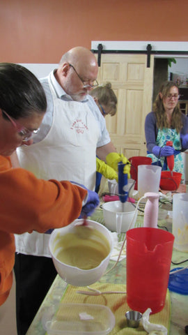 Soapmaking Class - Learning the Basics- April 30th