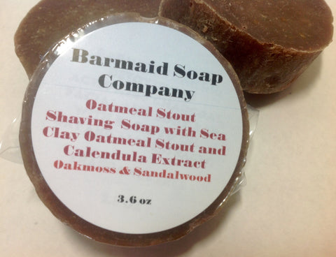 Oatmeal Stout Shaving Soap