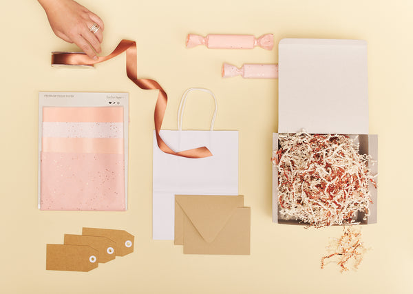 Rose Gold Gift Packaging Set