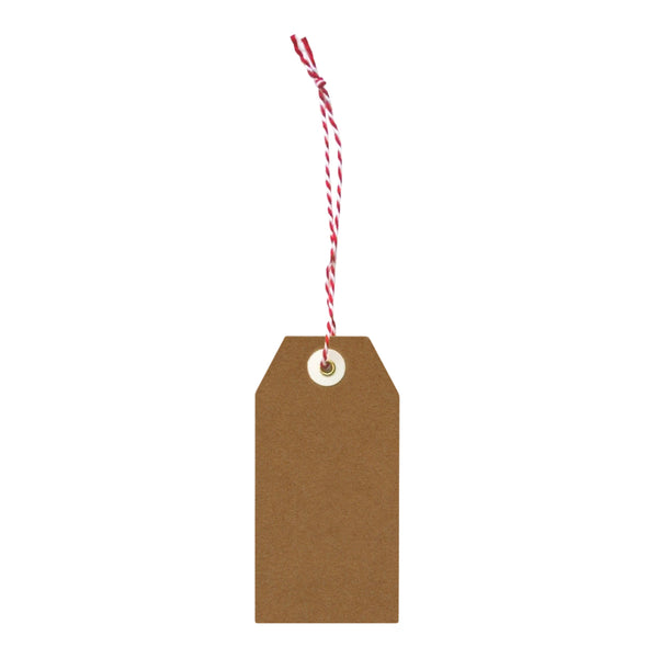 Recycled Kraft Paper Gift Tags - set of 20