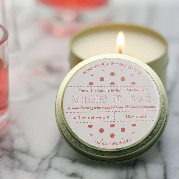 Cheers to Rosé BonBon Candle