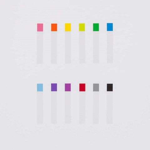 THIN STICKY NOTES 12 COLORS