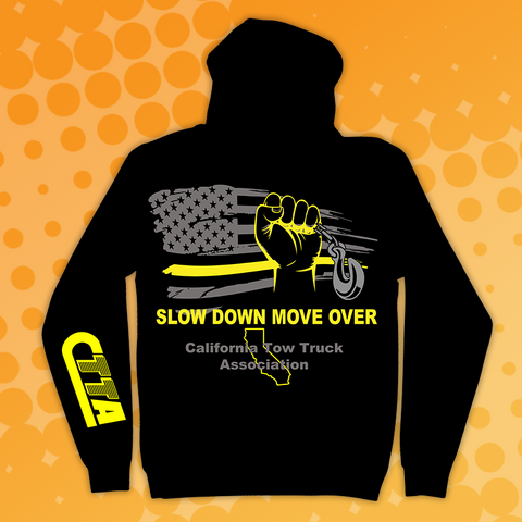 CTTA Slow Down/Move Over Hooded Sweatshirt