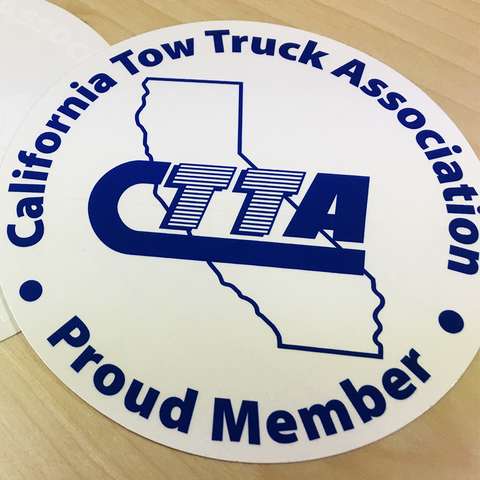 CTTA Sticker Decals - 25pk