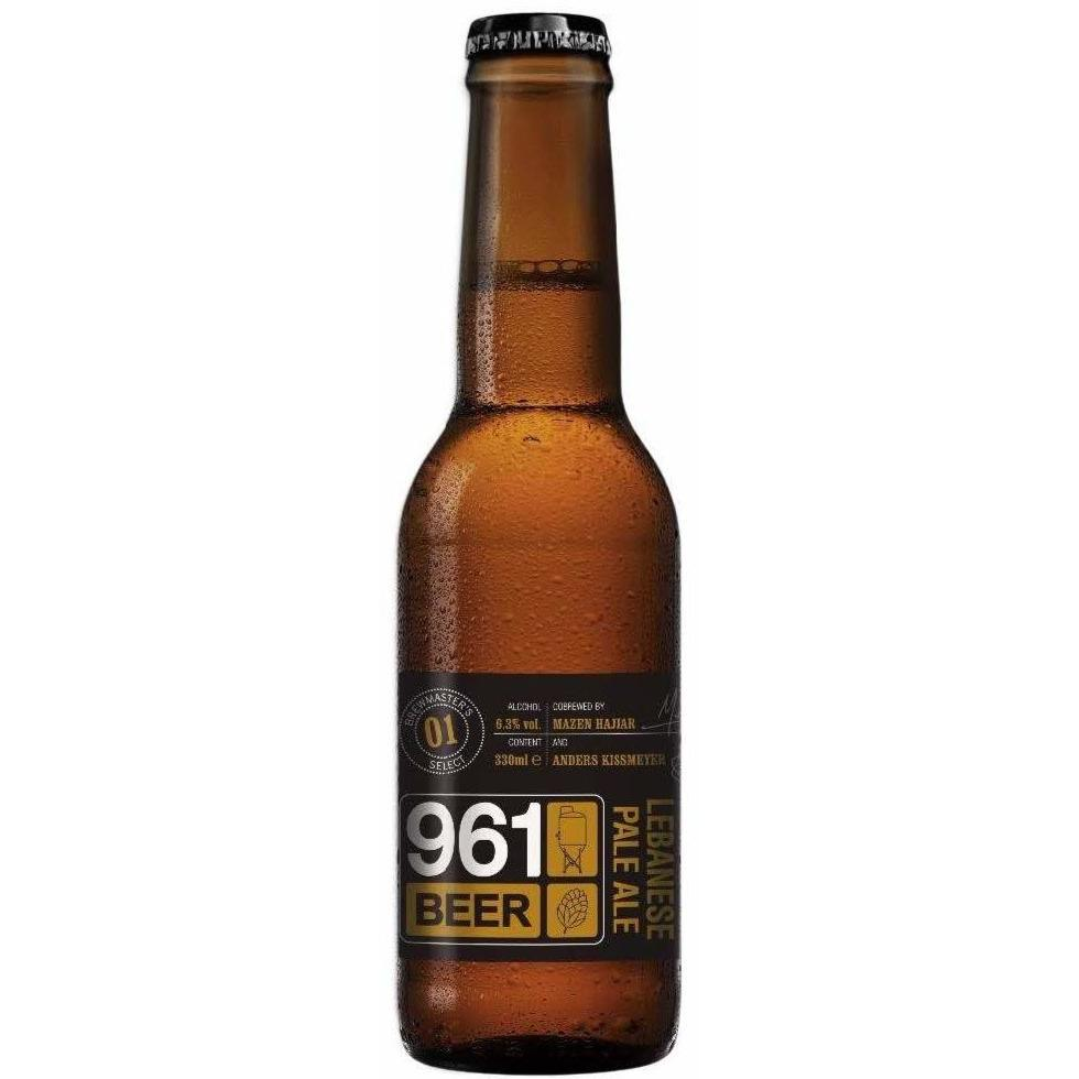 961 Beer - Lebanese Pale Ale - Pack of 6 bottles