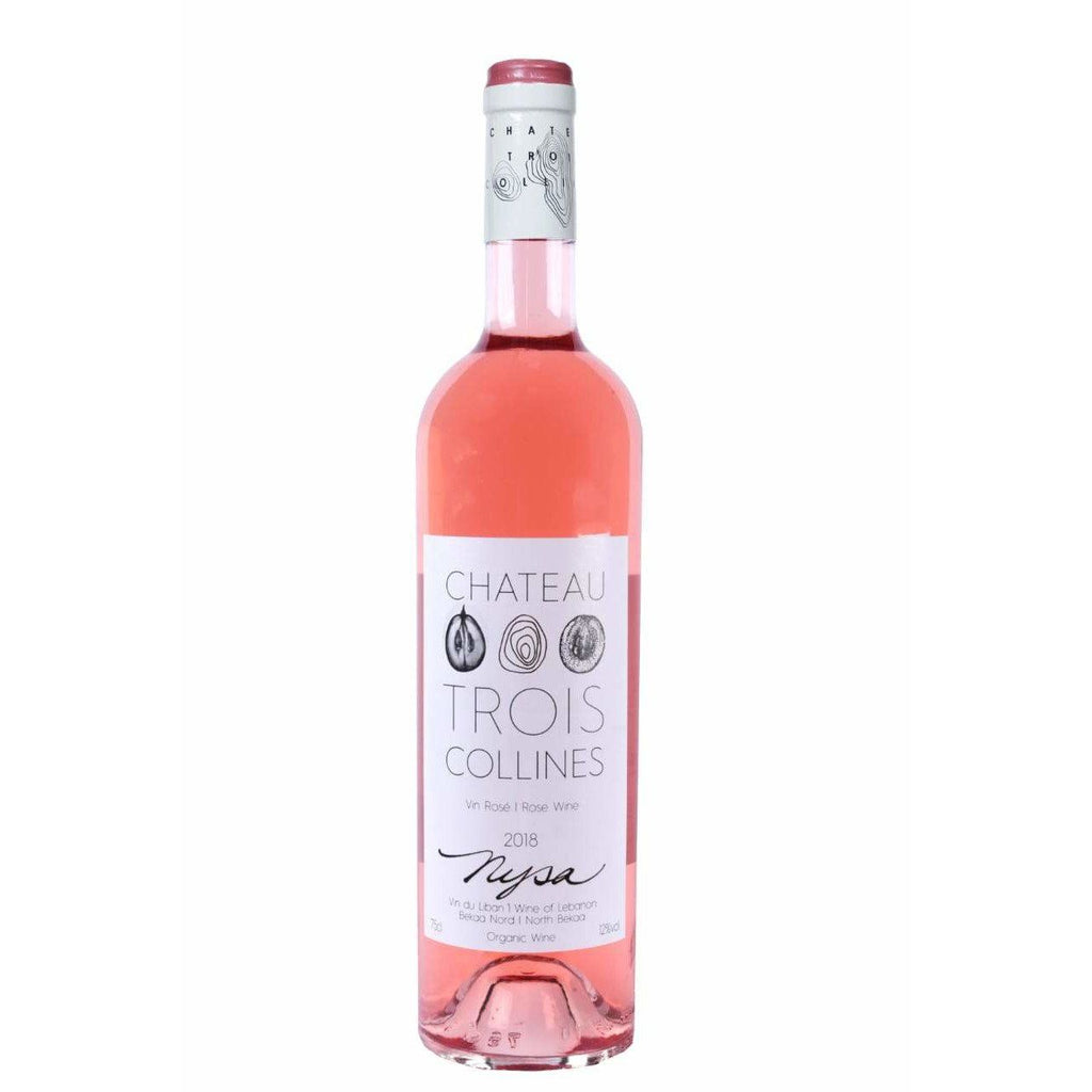 Chateau Trois Collines rose wine Nysa 2018