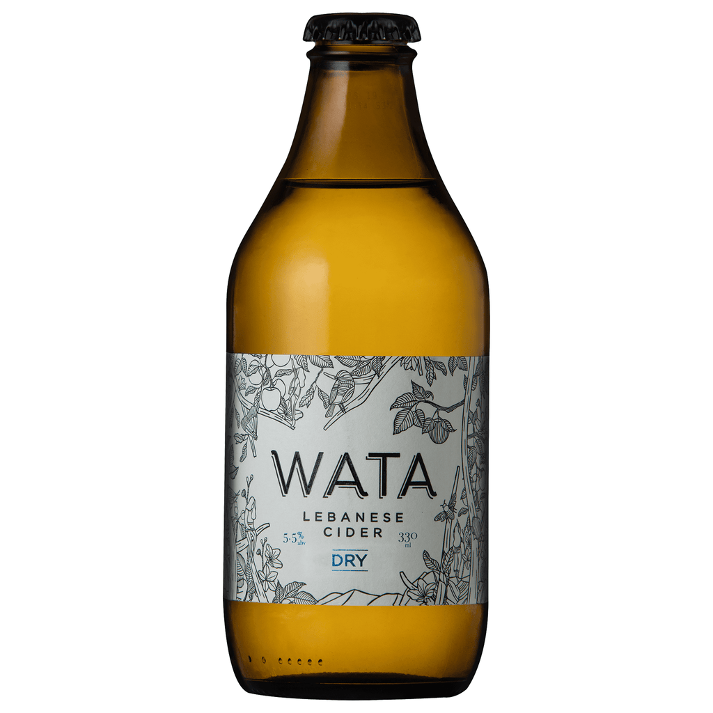 Wata Lebanese cider Dry 330 ml - Pack of 4