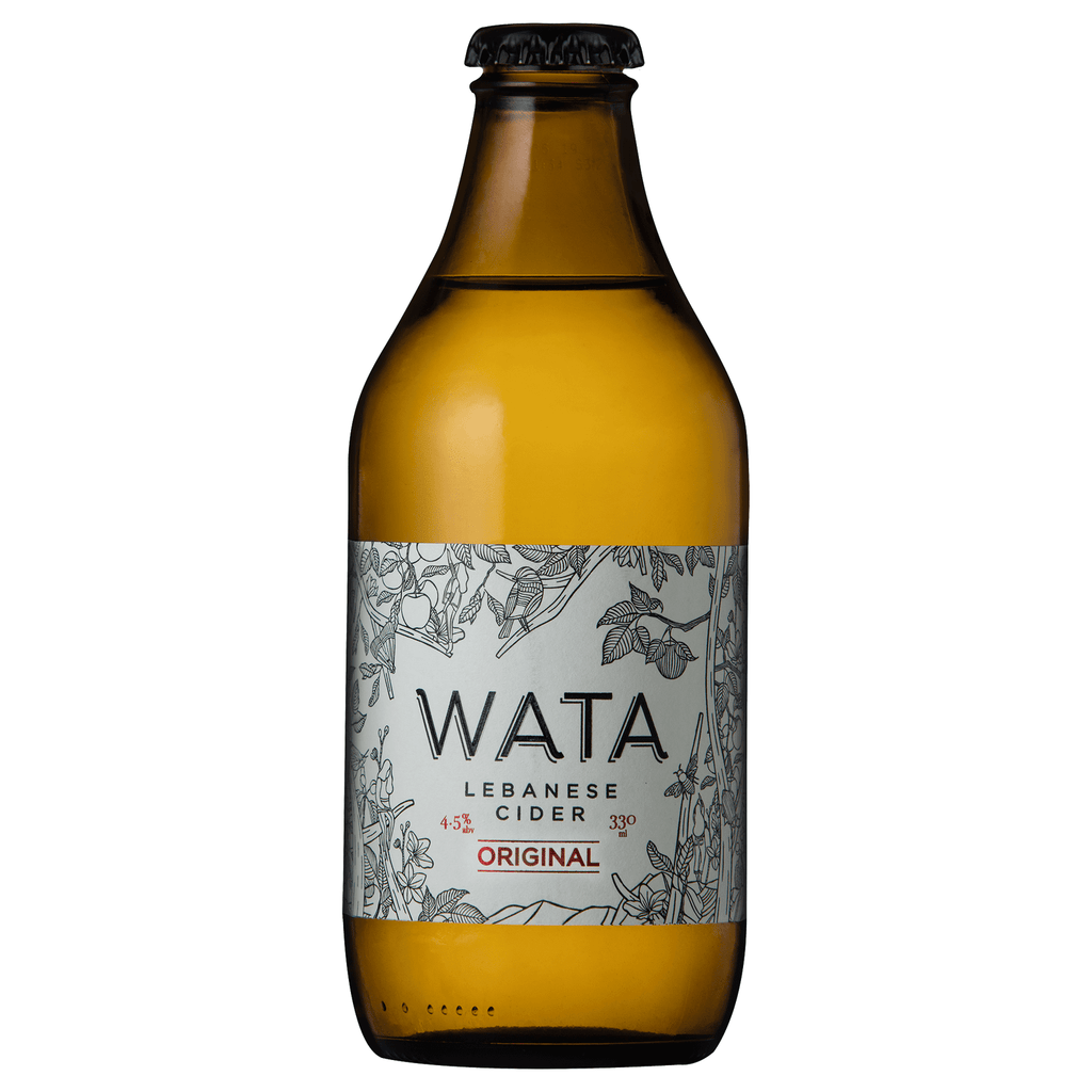 Wata Lebanese cider Original 330 ml - Pack of 4