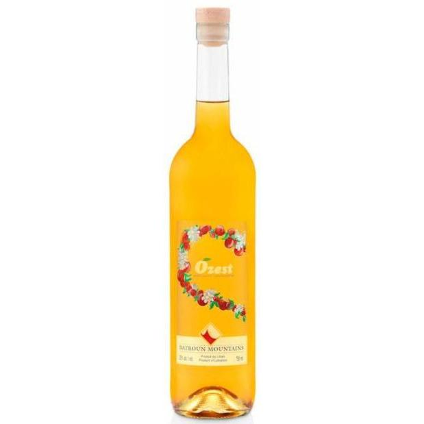 Batroun Mountains orange liqueur Ozest