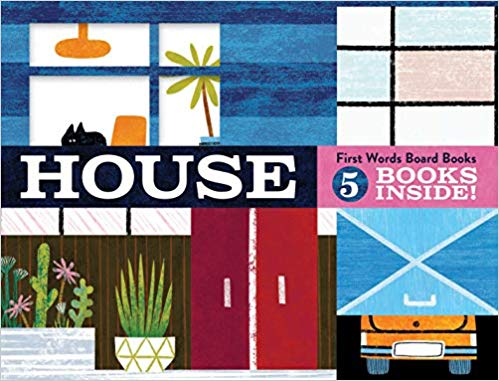 House: First Words Board Book